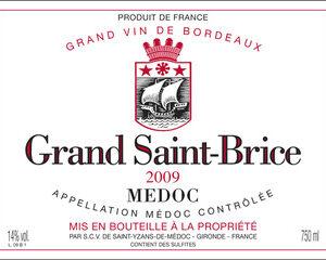 2009 Grand St Brice