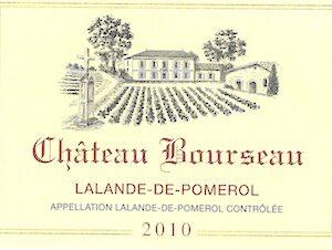 2010 Chateau Bourseau