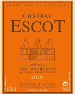2010 Chateau D'Escot