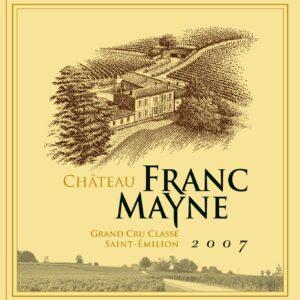 2007 Chateau Franc Mayne